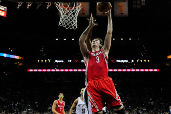 Omer Asik has become involved on offense in Houston.
