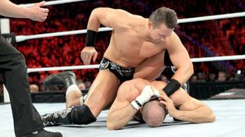 Can the Miz stop Antonio Cesaro's U.S. title reign? (photo courtesy of wwe.com)