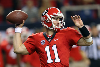 Aaron Murray could quickly rise up the draft board if he declares for the 2013 NFL draft.