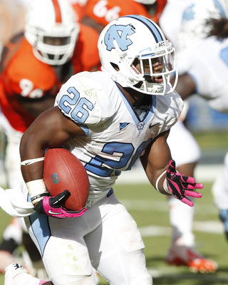Giovani Bernard could be the first running back selected in the 2013 NFL draft.