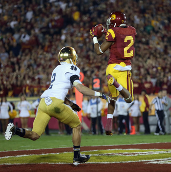Robert Woods is entering the draft as a junior, and he is NFL-ready.