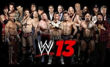 All Wrestlers in WWE 13