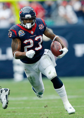 Arian Foster lost his throne as fantasy football's top pick.