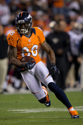 Demaryius Thomas flourished with Manning feeding him the ball.
