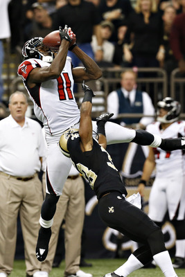 Julio Jones emerged as a big-play threat for Matt Ryan.