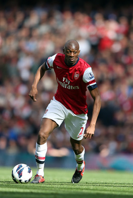 Injuries have limited Abou Diaby's contribution.