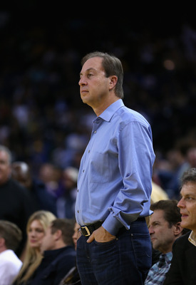 Redemption for Joe Lacob, who was booed mercilessly last season.