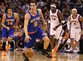 Prigioni's minutes are expected to increase over the next month.