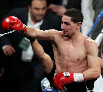 Danny Garcia holds the WBC and WBA junior welterweight championship titles.