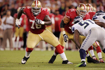 Tackle Anthony Davis won the Bobb McKittrick award as the 49ers' top offensive lineman.