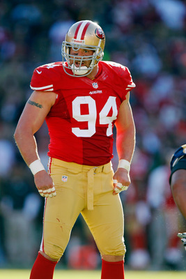 Justin Smith is the 49ers' top defensive lineman.