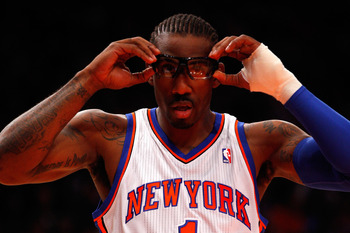 Amar'e Stoudemire's contract is downright unmovable.