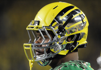 Oregon's flashy helmets