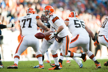 Brandon Weeden and the Cleveland Browns are looking for a new coach