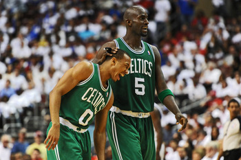 Bradley (left) will be expected to provide the same spark he provided the C's last season.