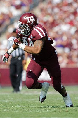 Texas A&M DE Damontre Moore.