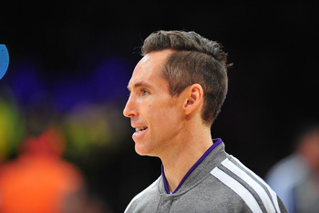 Steve Nash is finally back to run the Lake Show