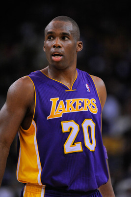 Jodie Meeks is a key bench player for the shooting-deprived Los Angeles Lakers