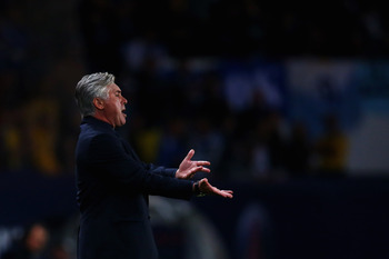 Ancelotti has been frustrated at his side's lack of dominance in Ligue 1