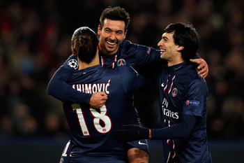 All smiles as PSG find the back of the net in Europe