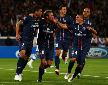 PSG have impressed in the Champions League