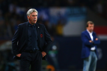 Ancelotti's side are not having it all their own way in Ligue 1