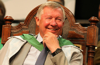 Sir Alex Ferguson Honorary Doctorate