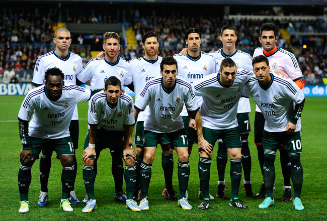 real madrid squad numbers Photo