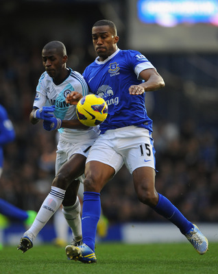 Sylvain Distin has been a consistent performer for Everton.
