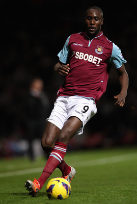 Carlton Cole helped West Ham to make an immediate return to the Premier League in 2012.