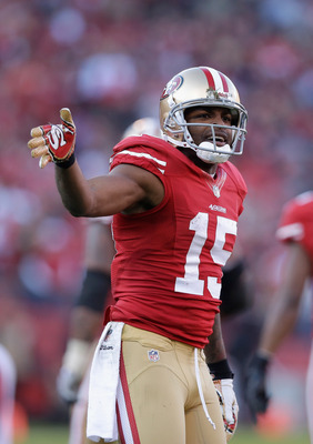 Despite WR Michael Crabtree's emergence as a top receiving target, the remaining 49er receivers have almost vanished.