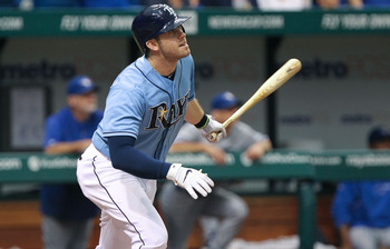 A healthy Evan Longoria means a world of difference for the Tampa Bay Rays offense.
