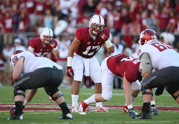 A.J. Tarpley led the Cardinal with nine tackles in the Rose Bowl.