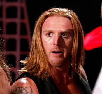 Heath Slater and his Wendy's haircut. Photo Courtesy of WWE.com
