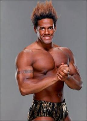 Darren Young's fiery hairdo from his NXT days. Photo Courtesy of campifw.com
