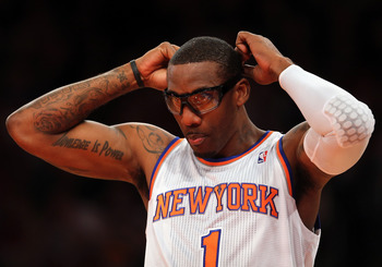 Stoudemire received a standing ovation from Knicks' fans last night