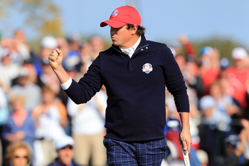 Jason Dufner doesn't show much emotion on the course.