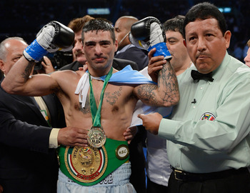 Few fighters in the sport hit harder than Matthysse.