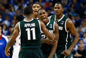 Keith Appling, Branden Dawson, Gary Harris and Derrick Nix give Michigan State plenty of firepower and versatility.