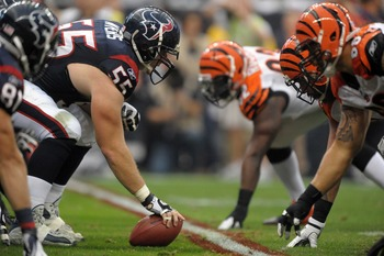 Can the Texans O-line keep a hot Bengals defense from shutting down their offense?