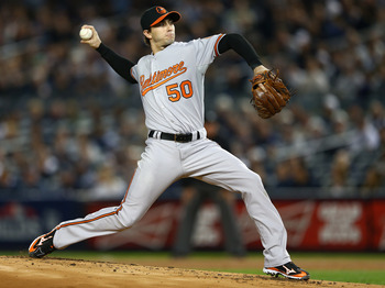 Miguel Gonzalez pitched well in his lone ALDS start and had a great rookie season for the Orioles.