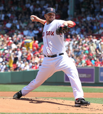 John Lackey is one of several starting pitchers the Red Sox hope returns to his old form.