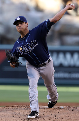 Matt Moore is another young Tampa Bay starting pitcher on the verge of stardom.