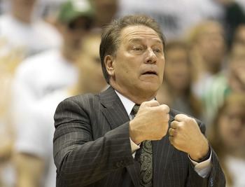Tom Izzo's Spartans have traditionally struggled in postseason B1G play.