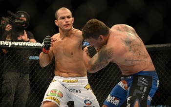 Junior dos Santos will likely climb further up this list as he continues to put opponents' lights out.