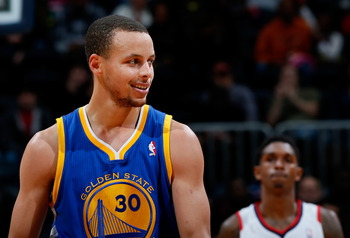 Stephen Curry is finally over his ankle injuries and playing like one of the best point guards in the league.