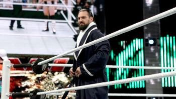 Damien Sandow preparing to face Daniel Bryan. Photo: WWE.com.
