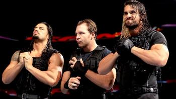 The Shield should be a major force in the Royal Rumble. Photo: WWE.com.