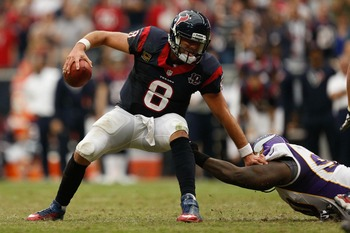 Pressure is on Matt Schaub to step up his game.