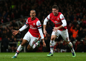 Theo Walcott has been in excellent form lately